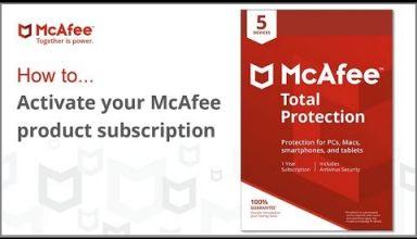 mcafee.com activate